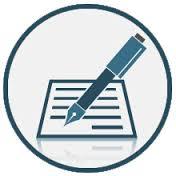 carta e penna per indicare gli studi del notaio